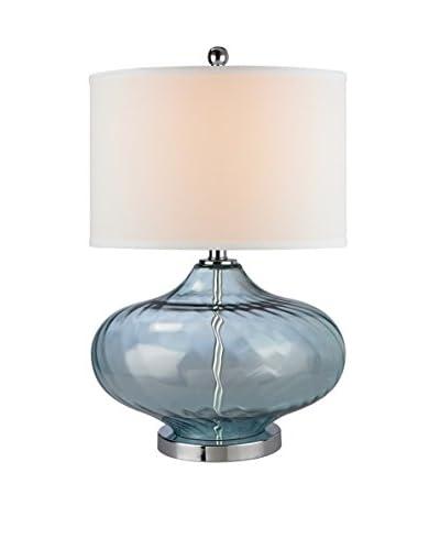 Artistic Lighting Table Lamp, Translucent Light Green