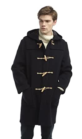 Original Montgomery Mens Wooden Toggles Duffle Coat (36, Navy)