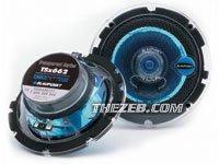 "Blaupunkt Transparent Series TSx 462 - Car speaker - 35 Watt - 2-way - coaxial - 4"" x 6"""