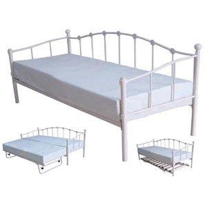 paris tagesbett metall klein 76 cm k che haushalt. Black Bedroom Furniture Sets. Home Design Ideas