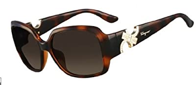 Salvatore Ferragamo Sunglasses SF642S 214 Tortoise 57 16 135