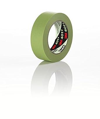 3M High Performance Masking Tape 401+, Green (Multiple Sizes)