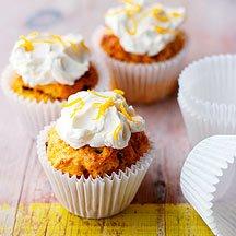 Muffins Carrot Cake w/cream cheese glaze Mix