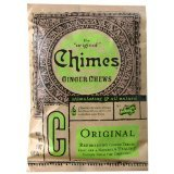 Ginger Chews Original Chimes 5 oz Bag