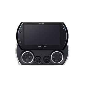 PSP go「プレイステーション・ポータブル go」 ピアノ・ブラック(PSP-N1000PB)