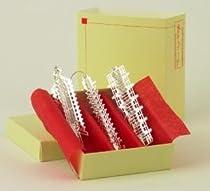 Frank Lloyd Wright Gift Shop - FRANK LLOYD WRIGHT Architect SILVER Christmas ORNAMENT SET #2