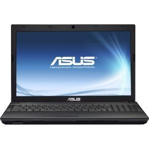 Asus P53E-XS51 15.6 LED Notebook - Intel Heart i5 i5-2450M 2.50 GHz - Black. P53E-XS51 I5-2450M 2.5G 4GB 500GB DVDRW 15.6IN W7P .3MP. 1366 x 768 HD Open out - 4 GB RAM - 500 GB HDD - DVD-Writer - Intel HD 3000 Graphics - Webcam - Not counterfeit Windows