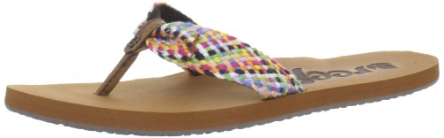 Reef Women's Mallory Scrunch Flip Flop,Multi,8 M US