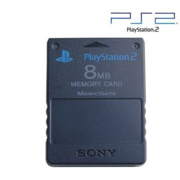 New Sony Playstation 2 8 MB Memory Card Magicgate Data Encryption Technology High Quality