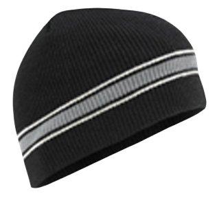 Buy Wigwam Mills Mens Retro Stripe Hat OS Black by Wigwam