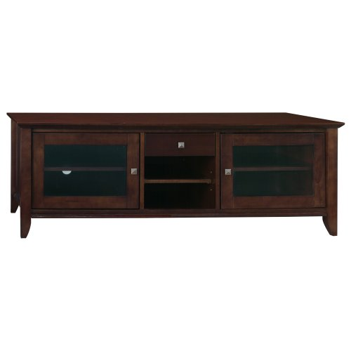 Bush Furniture Sonoma Large TV Stand, Mocha Cherry Veneer