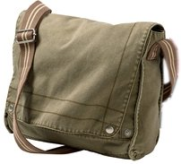 Canvas Field Bag - Olive DT702