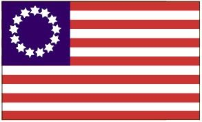 Amazon.com : 3'x5' Betsy Ross 13 Stars American FLAG : Outdoor Flags