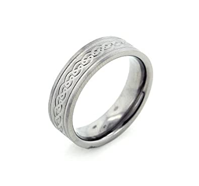 mens irish wedding band rings