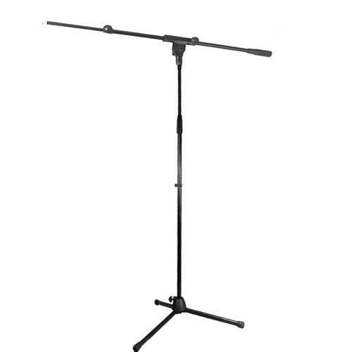 Podium Pro Adjustable Steel Microphone Stand With Boom And Tripod Base Mic Stand Ms2Set3