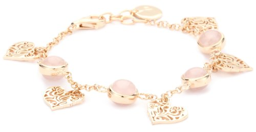 GALA by Daniela Swaebe Sacred Heart Rose Gold Charm Bracelet