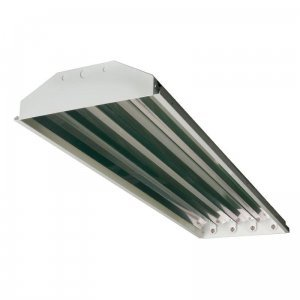 4-lamp T5 HO High Bay Fluorescent Lighting Fixture High Output T5HO, 120-277V (Flourescent Garage Lighting compare prices)