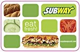 SUBWAY Gift Card Collection