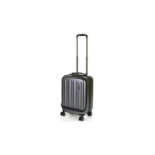 (ヒデオワカマツ)HIDEO WAKAMATSU スーツケース フラッシュ 85-75690 49cm ブラック