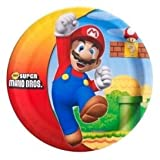 Super Mario Bros. Dinner Plates (8 count) Child