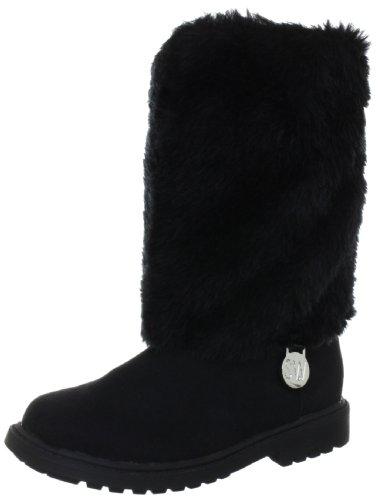 Stuart Weitzman Kinderschuhe Girls Furever Boots Black Schwarz (Black) Size: EU 27.5 (US 10)