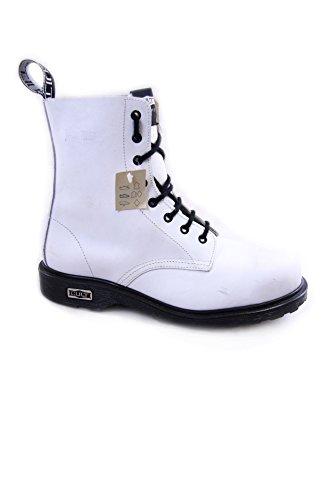 Cult Vintage Leather Boots Steel Toe mod. Bolt CL3663G8972 White (39 EU, White)