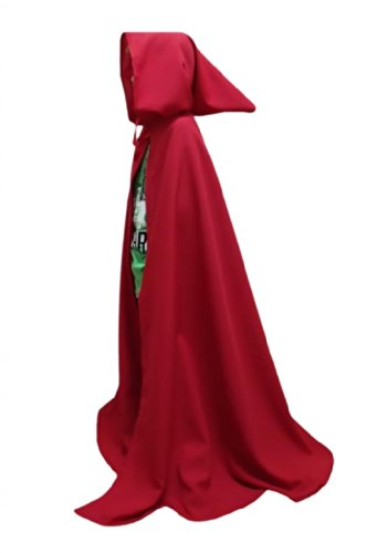 "Merlins Medieval Closet Cloak - Legoslas/Frodo/Medieval/Lord Of The Rings/Elf 40"" red"