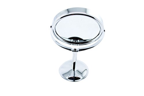 Personal/Professional Beauty Makeup Cosmetic Mirror & Double-Sided Normal and Magnifying Stand Mirror