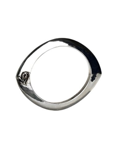 Belle Noel By Kim Kardashian Evil Eye Bangle - Palladium