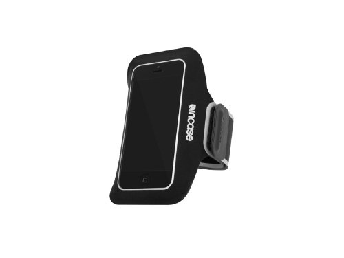 INCASE(インケース)Sports Armband for iPhone5 BLACK/SILVER 69048 (iPhone5用, BLACK/SILVER)