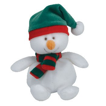 TY Jingle Beanie Baby - ICECAPS the Snowman