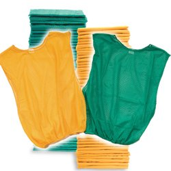 Youth Scrimmage Vest 50 Pack Grn Yel (PAC) by SSG