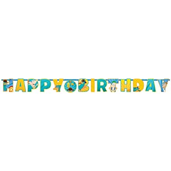 Phineas & Ferb Themed This Add An Age Phineas and Ferb Birthday Banner features 'HAPPY BIRTHDAY' jointed cardstock letters and pictures of your favorite summer break adventurers. The birthday banner can be personalized for the appropriate birthday ye...