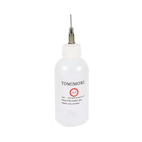 2 Stück 50 ccm klare weiße Kunststoff Leere Squeeze Bottle Dispenser