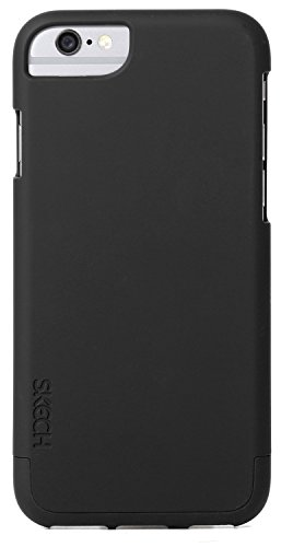 Skech Hard Rubber Two-Piece Hard Shell Protection & Slim Case For IPhone 6 (4.7) - Black