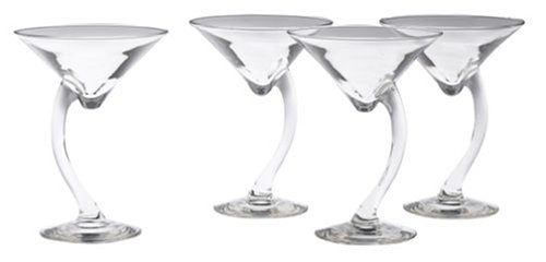 Serve Weight Watchers Pumpkin Mousse in Libbey Swerve 4-Piece Martini Set