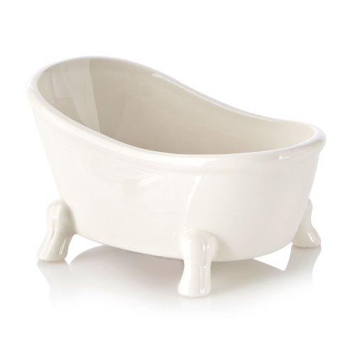 Ben De Lisi Home Ceramic Bathtub Soap Dish