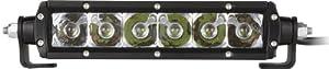 "Rigid Industries 90612 SR-Series Amber 6"" Flood LED Light Bar"