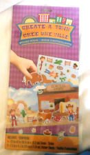Create a Town Sticker Scene (Assorted, Designs Vary) - 1