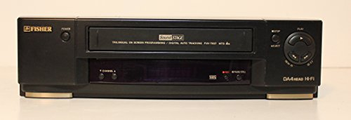 Fisher FVH-T607 VCR Hi-Fi Stereo Video Cassette Recorder Player