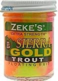 Atlas Mike's Super Zekes Gold Trout Fishing Bait, Rainbow