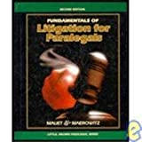 Fundamentals of Litigation (Little, Brown paralegal series) (0316551147) by Mauet, Thomas A