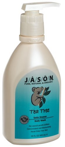 Jason Satin Shower Body Wash, Tea Tree Melaleuca, 30 oz.
