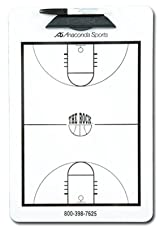 Anaconda Sports® MG-LES The Rock® Basketball Court Diagram Clipboard (Size: 9in. x 15 1/2in.)