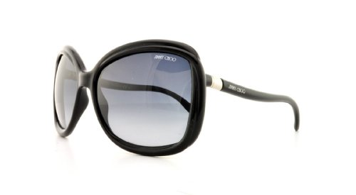 Jimmy ChooJimmy Choo Margy Sunglasses Shiny Black / Gray Gradient