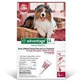 Advantage Flea Control for Dogs (Six Dose (6-applications))
