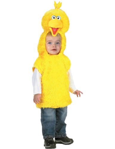 Big Bird Vest 4 6 Kids Girls Costume