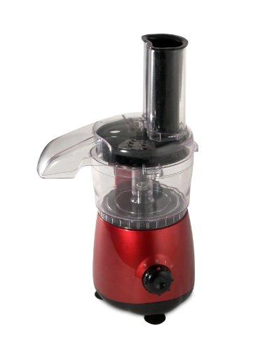 Kitchen Chef FM5 R, Mini Robot tritatutto, colore: Rosso