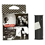 Lomography Black & White 100 ISO Negative 120mm Film (3-Pack)