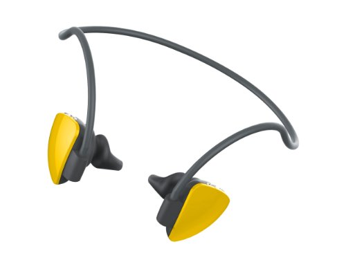 Quikcell S150Y Stereo Bluetooth Headset - True Yellow QuikCell Bluetooth Headsets autotags B00DQN3X3E